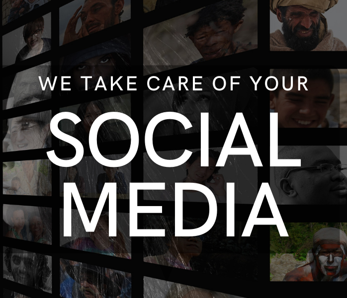 We take care of your social media